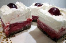Vivica kocka - gluténmentes sütemény hozzáadott cukor nélkül