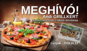 csopak Andri Grillkert gluténmentes pizza