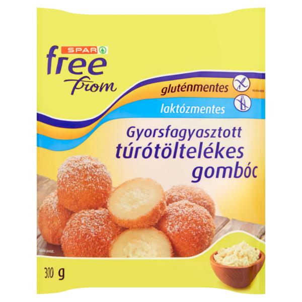SPAR free from gluténmentes túrógombóc