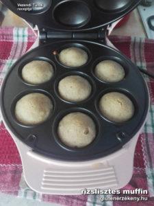 a rizslisztes gluténmentes muffin recept