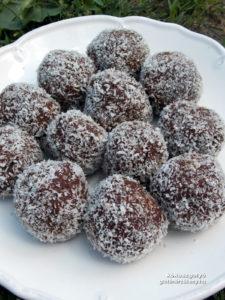 gluténmentes kókuszgolyó recept