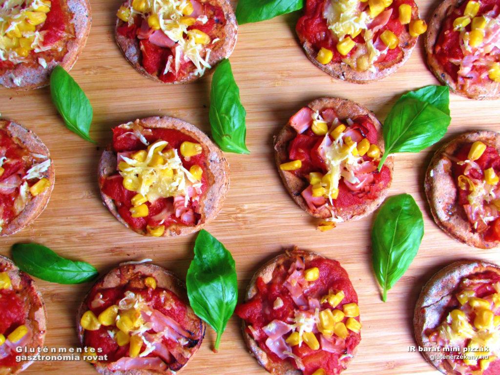 IR barát gluténmentes pizza recept, tejmentes, rostban gazdag, egészséges
