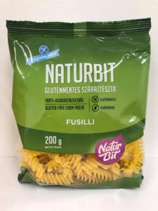 NATURBIT gluténmentes száraztészta fusili