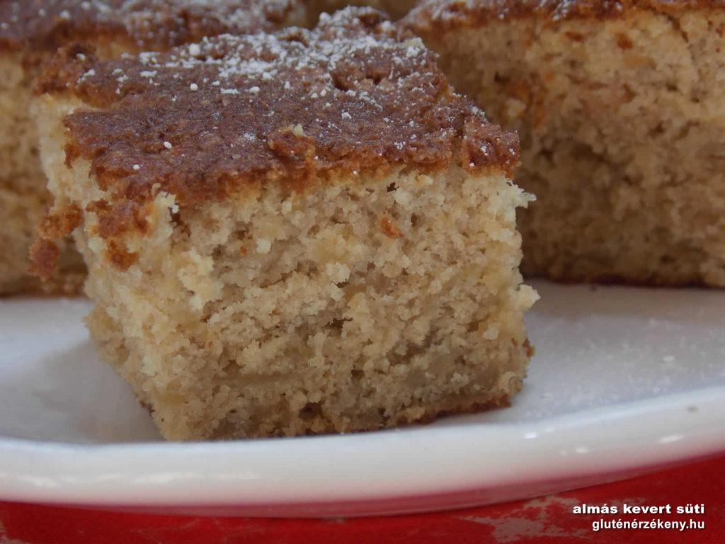 almás gluténmentes süti recept