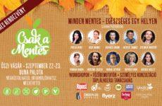 Ingyenes rendezvény! Csak a Mentes őszi vásár 2018.09.22-23