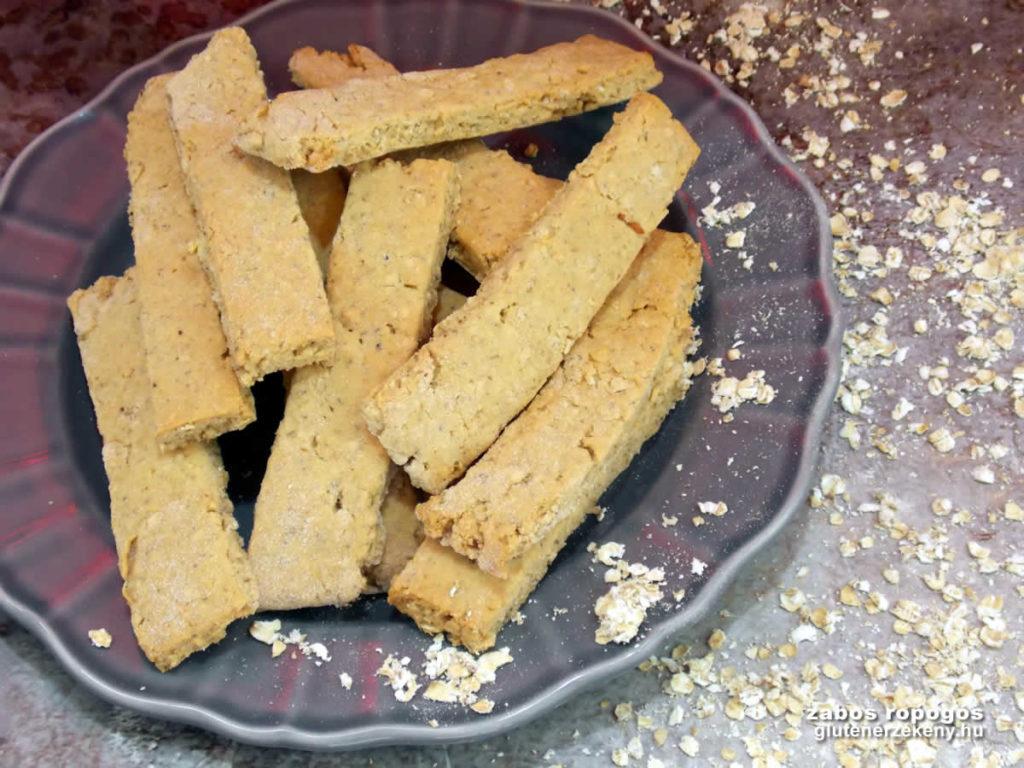 gluténmentes ropogtatni való recept