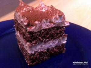 habos gluténmentes gesztenyés süti recept
