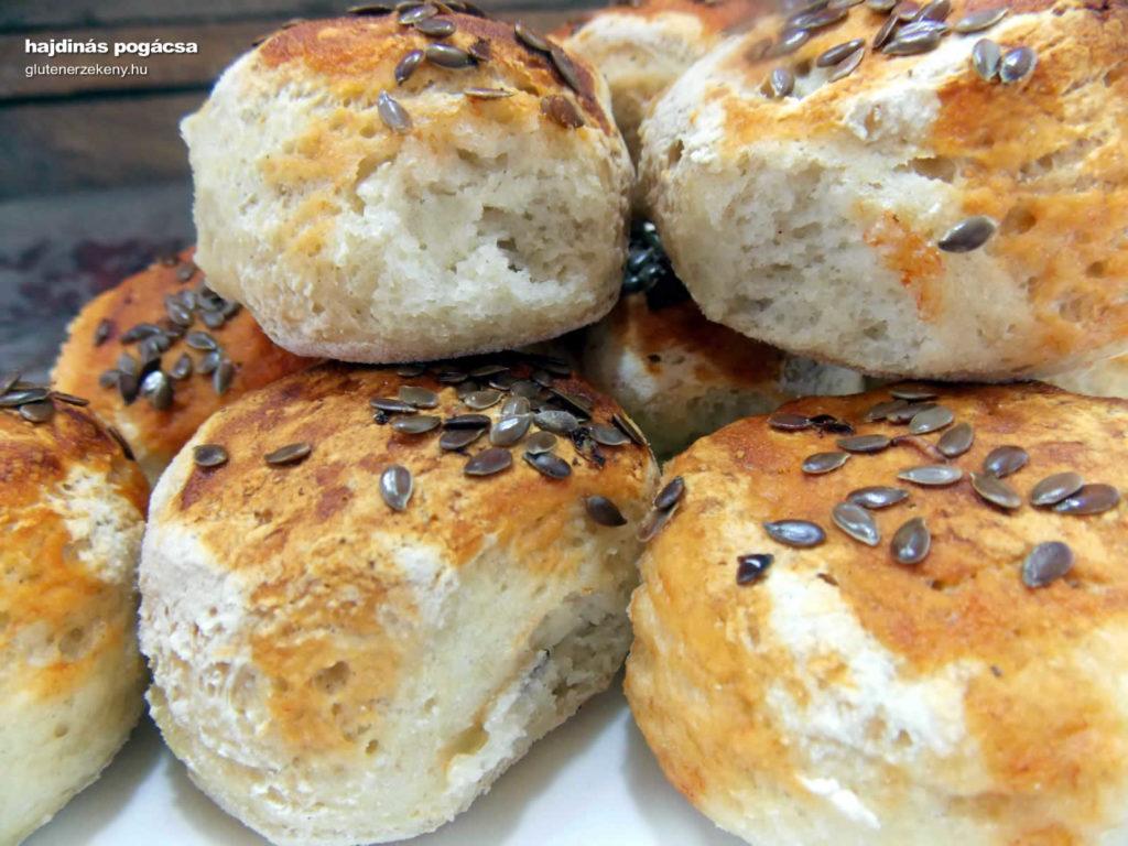 hajdinás gluténmentes pogácsa recept