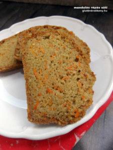 mandulás gluténmentes sütemény recept