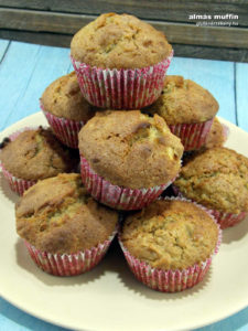 muffin - almás gluténmentes sütemény