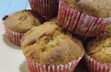 Almás gluténmentes muffin