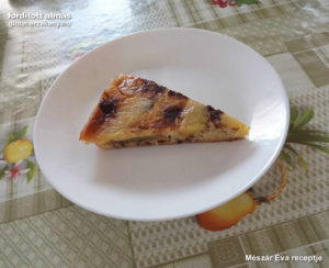 Fordított almás gluténmentes torta recept