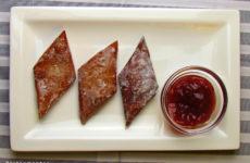 Gluténmentes fánk édesítőszerrel