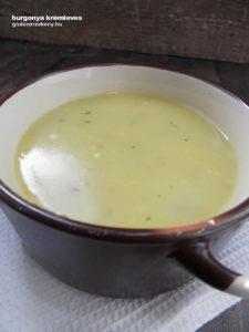 tej- és gluténmentes burgonyakrém leves