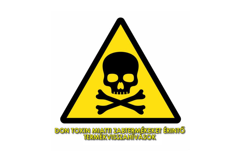 don toxin termékvisszahívások