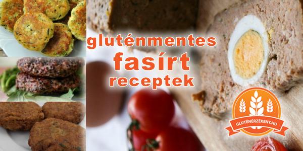 gluténmentes fasirt receptek