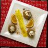 Gluténmentes túrógombóc karácsonyi köntösben - édesítőszerrel
