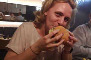 Kata restaurant gluténmentes hamburger