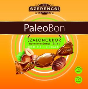 Szerencsi paleobon mogyorókrém gluténmentes szaloncukor