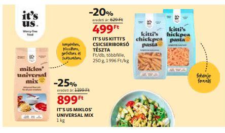 Auchan gluténmentes termék akció