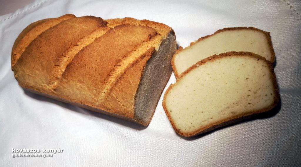 kovászos gluténmentes kenyér recept