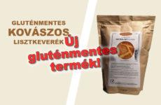 Új kovászos gluténmentes kenyér lisztkeverék