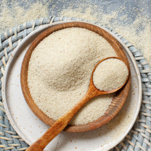 fehér fonio gluténmentes gabona