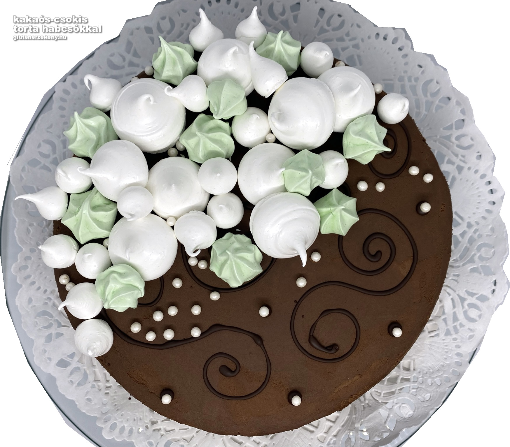 gluténmentes kakaós-csokoládétorta recept