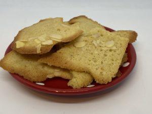 mandulás gluténmentes keksz