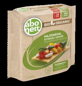abonett gluténmentes extrudált kenyér bio hajdinas