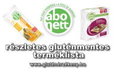 Abonett gluténmentes terméklista 2021.04