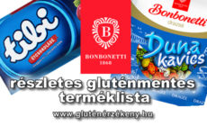 Bonbonetti Choco Kft. gluténmentes terméklista - 2021.04.