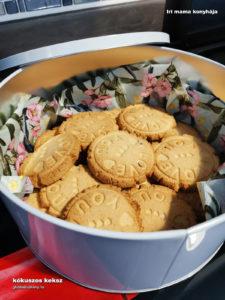 gluténmentes kókuszos keksz