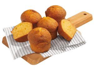 laktóz- és gluténmentes túrós muffin