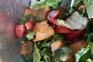 gluténmentes salátarecept