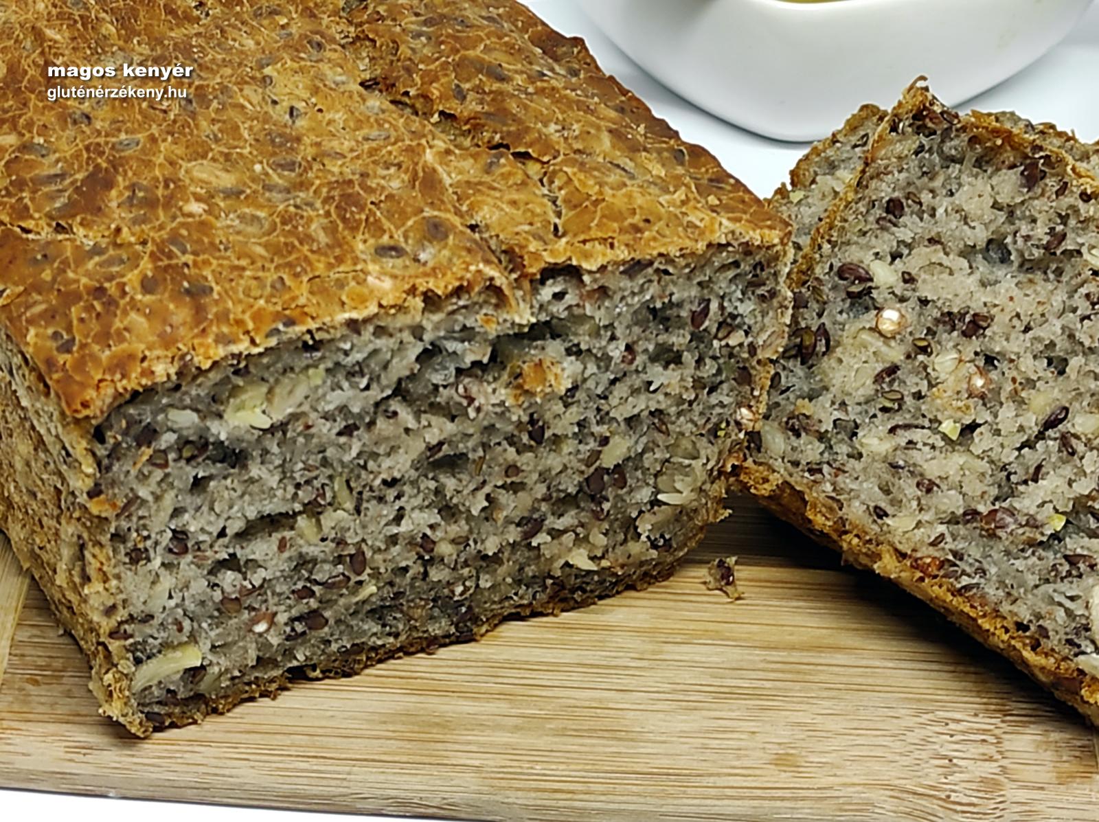 magos gluténmentes kenyér recept