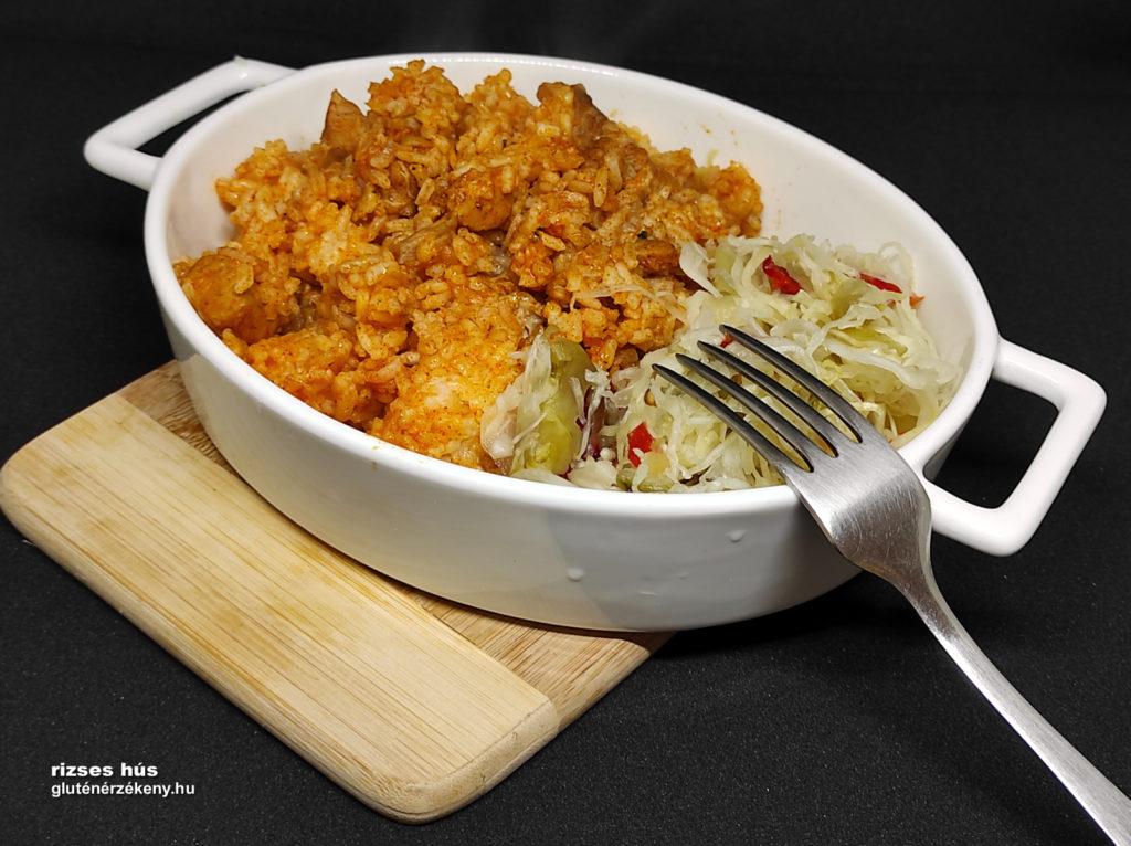 rizses hús gluténmentes étel