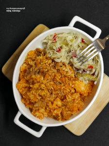 rizseshús gluténmentes főétel