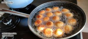 sült gluténmentes túrógombóc recept