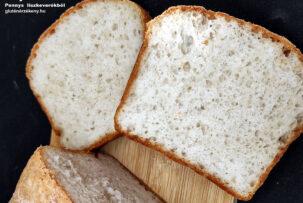 gluténmentes kenyér recept Penny lisztkeverék