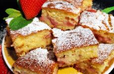 Epres kukoricadarás gluténmentes kevert süti