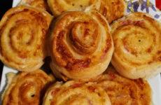 Gluténmentes sonkás sajtos csiga Iri mama konyhájából