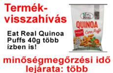 Termékvisszahívás Quinoa Puffs 40g többféle - 2021.06.14
