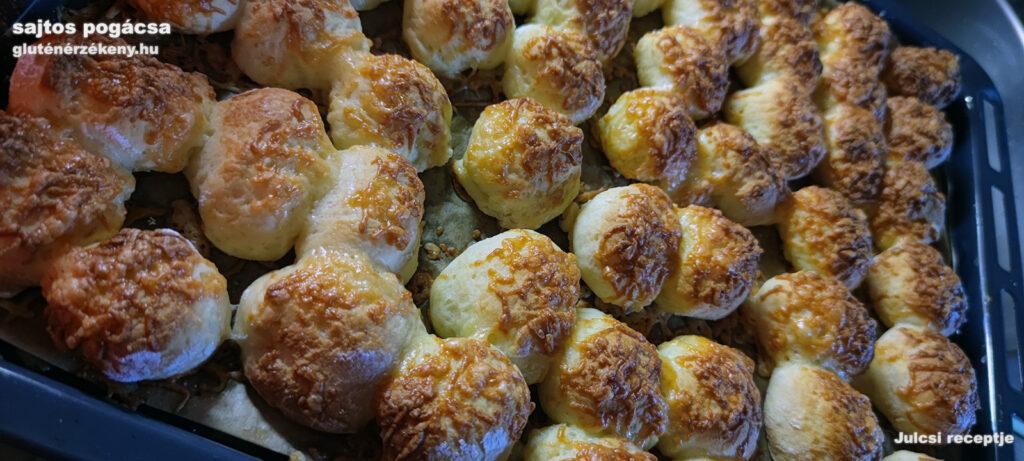 gluténmentes sajtos pogácsa