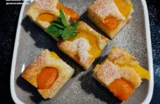 Sárgabarackos – őszibarackos gluténmenrtes sütemény