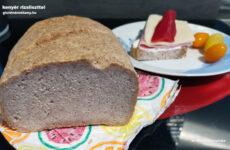 Gluténmentes kenyér fehér és barna rizsliszttel