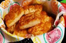 Gluténmentes ricottás sajtos pogácsa