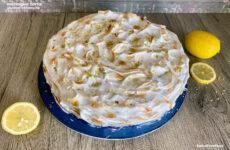 Citromkrémes gluténmentes meringue torta