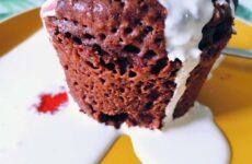 10 perces gluténmentes mikrós sütemény