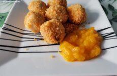 Narancsos túrógombóc - mangós-narancsos raguval